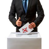 Bundestag election in Germany Stock Photography