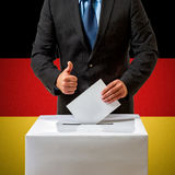 Bundestag election in Germany Stock Image