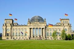 Bundestag en Berlín Imágenes de archivo libres de regalías