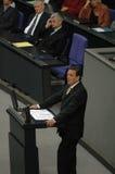 Bundestag ingen förtroendeomröstning 2005 Royaltyfri Fotografi