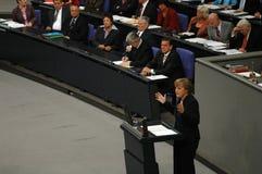 Bundestag ingen förtroendeomröstning 2005 Royaltyfria Bilder