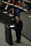 Bundestag ingen förtroendeomröstning 2005 Royaltyfri Bild