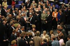 Bundestag ingen förtroendeomröstning 2005 Royaltyfri Foto