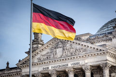 Bundestag - le Parlement allemand Images stock