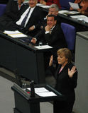 Bundestag No Confidence Vote 2005 Stock Photo