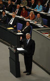 Bundestag No Confidence Vote 2005 Royalty Free Stock Photography