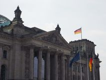 Bundestag parlament w Berlin obrazy royalty free