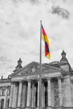 Bundestag - unicameral body of popular representation of the Federal Republic of Germany. Stock Photos