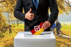 Bundestag wybory w Niemcy Zdjęcie Royalty Free