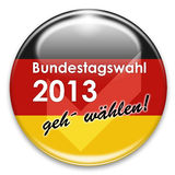Bundestagswahl 2013 Royalty Free Stock Photo