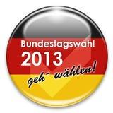 Bundestagswahl 2013 Royalty Free Stock Photo