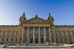 Bundesverwaltungsgericht in leipzig Stock Image