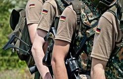 Bundeswehr royaltyfri fotografi