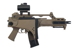 Bundeswehr assault rifle Stock Image