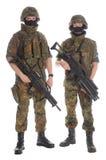 bundeswehr soldater Royaltyfria Bilder