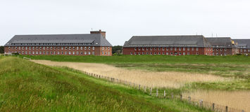 Bundeswehr soldiers' barracks on the island of Sylt Germany Stock Photos