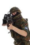bundeswehr tjäna som soldat Arkivfoton