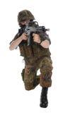 bundeswehr tjäna som soldat Royaltyfri Bild