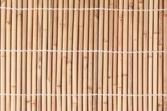 Bundet av torkad bambustjälkmodell i japansk stil arkivbild