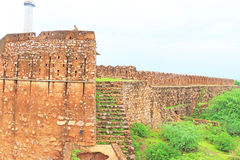 Bundi fort wall Stock Photography