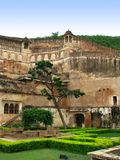 Bundi, India: Giardini di Palace del maragià immagine stock libera da diritti