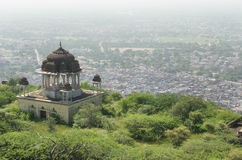 Bundi, India. View of the city of Bundi from Taragarh fort, Rajasthan, India Royalty Free Stock Photos