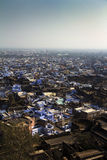 Bundi Indien, från över royaltyfri bild