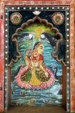 Bundi Palace. India. The decoration of the Bundi Palace. India Stock Image