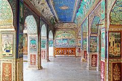 Bundi Palace. India Stock Photo