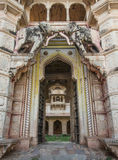 Bundi's palace gate Royalty Free Stock Photography