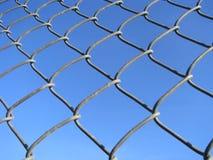 bundit staket Arkivfoton