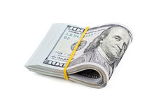 Bundle of American currency Royalty Free Stock Image