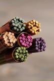 Bundle of aroma sticks Royalty Free Stock Photography
