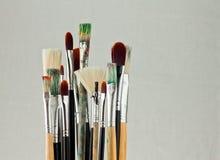Bundle of art brushes Royalty Free Stock Photos