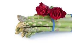 Bundle of asparagus Stock Images