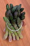 Bundle of asparagus Royalty Free Stock Photos