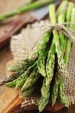 Bundle of asparagus Stock Photos
