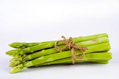 Bundle of asparagus spears Royalty Free Stock Image