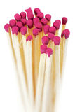 Bundle associated chimney of matches Stock Photo