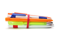 Bundle of Ball Pens Royalty Free Stock Photo