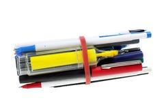 Bundle of Ballpoint Pens Stock Photo