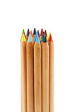 Bundle of big color pencils Royalty Free Stock Photography