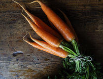 Bundle of carrots Royalty Free Stock Images