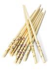 Bundle of Chinese chopsticks Stock Photos
