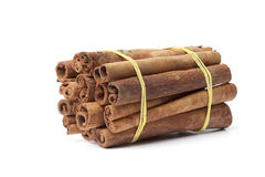 Bundle of Cinnamon sticks Royalty Free Stock Photo