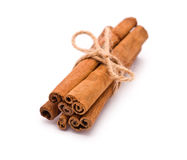 Bundle of Cinnamon Royalty Free Stock Photos