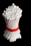 Bundle of Cotton Swabs Stock Image