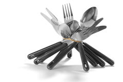 Bundle of Cutlery Royalty Free Stock Images