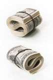 Bundle of dollar bills Stock Image