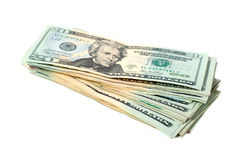 Bundle of dollars Royalty Free Stock Photo